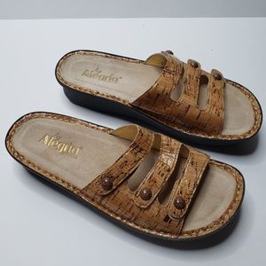 Alegria By Pg Lite Womens Sandels Sz 10.5 to 11